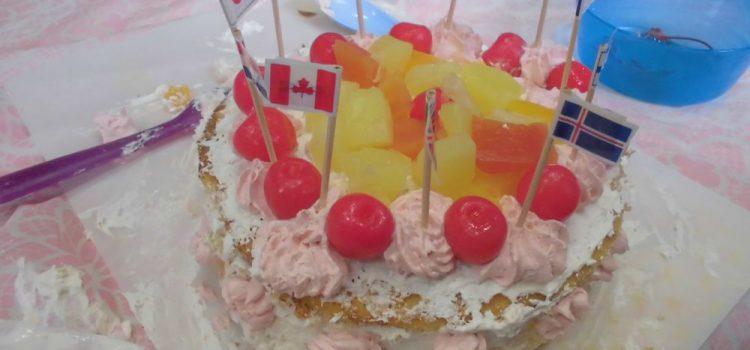 平和のケーキと干支飾り ~12月てらこやeトコ報告~