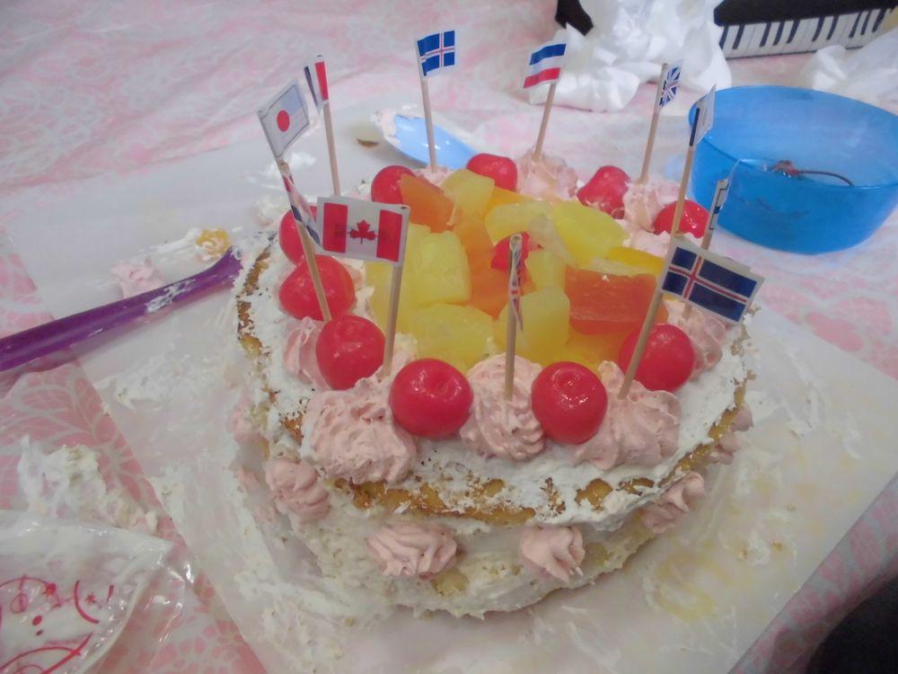 平和のケーキ